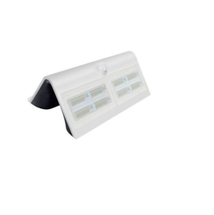 APLIQUE SOLAR LED 6.8W 800Lm 4000K C/ SENSOR IP65 BRANCO