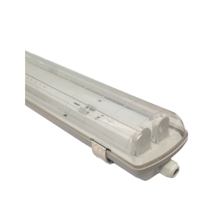 ARMADURA ESTANQUE LED 2X1500MM PC/INOX IP65