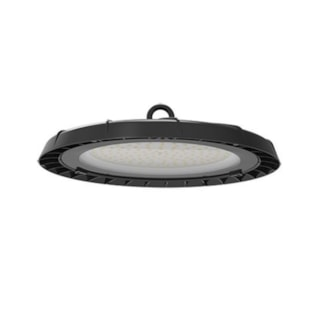 LUMINÁRIA INDUSTRIAL HIGHT BAY UFO 50W 4250Lm 90º 6000K IP65 PRETO